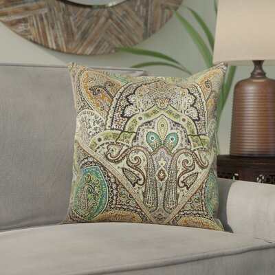 Wynnfield Throw Pillow Color: Emerald, Size: 20 x 20