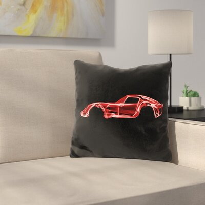 Ferrari Gtod Throw Pillow