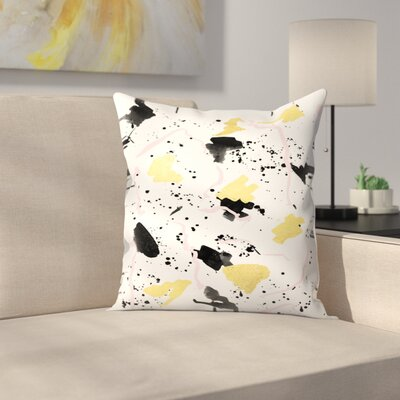 Charlotte Winter Raye Throw Pillow Size: 18 x 18