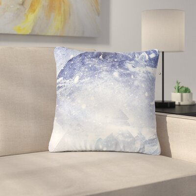 Ulf Harstedt Even Mountains Get Cold Outdoor Throw Pillow Size: 16 H x 16 W x 5 D