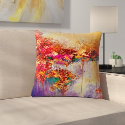 Ebi Emporium When Land Met Sky 4 Outdoor Throw Pillow Size: 16 H x 16 W x 5 D