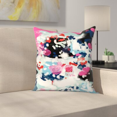 Charlotte Winter Aubrey Throw Pillow Size: 16 x 16
