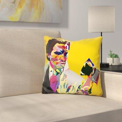 Americansyco Throw Pillow