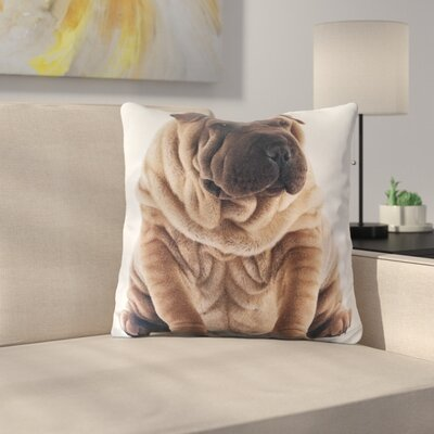 Huson Cotton Throw Pillow