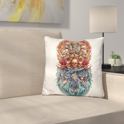 Mkcolor Throw Pillow