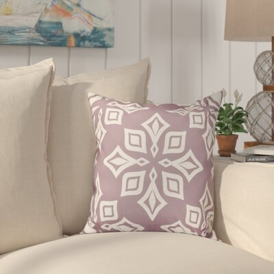 Cedarville Star Geometric Print Throw Pillow Size: 18 H x 18 W, Color: Purple