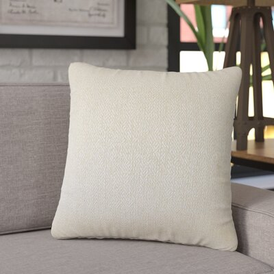Tanuja Woven Down Filled 100% Cotton Throw Pillow Size: 20 x 20, Color: Tan