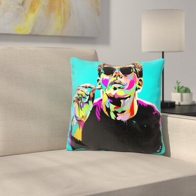 Break Fast Club Throw Pillow