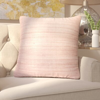 Shonda Silk Throw Pillow Fill Material: Down