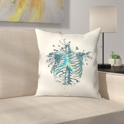 Keep Going Throw Pillow Size: 16 x 16