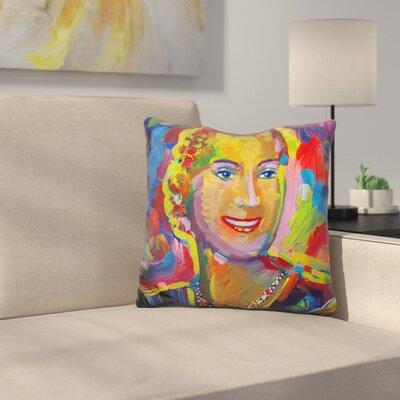 Evita Eva Perone Throw Pillow