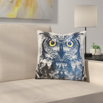 Marchese Night Owl Throw Pillow