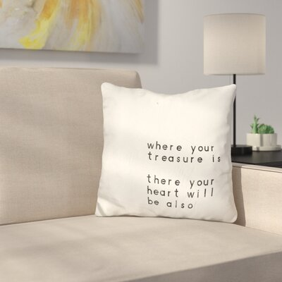 Triamkitsawat Words of Encouragement Throw Pillow