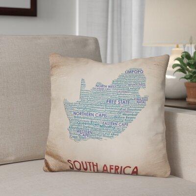 Gerson South Africa Throw Pillow