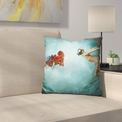 Entropy Throw Pillow