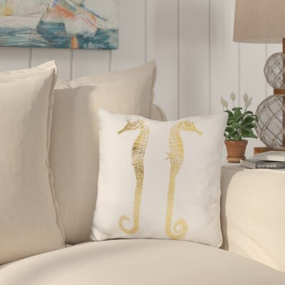 Buchheit Seahorses Throw Pillow