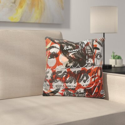 Three Seconds Throw Pillow