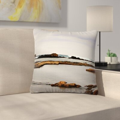 Sylvia Coomes Sea Coastal Outdoor Throw Pillow Size: 18 H x 18 W x 5 D