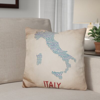 Bellanger Italy Throw Pillow