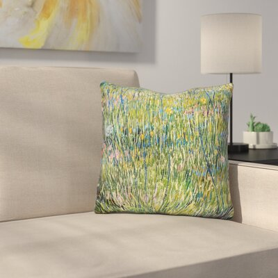 Patch of Grass Throw Pillow