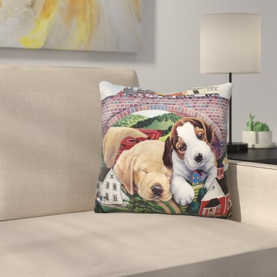 Choo Choo Choose Out Throw Pillow