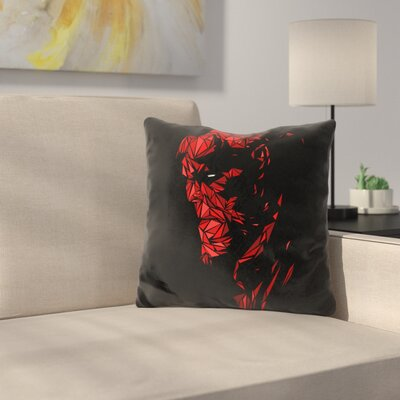 Hellboy Throw Pillow