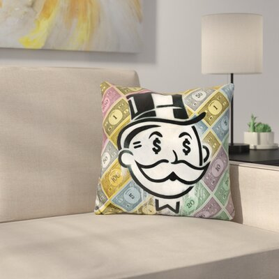 Another Day Another Dollar Throw Pillow
