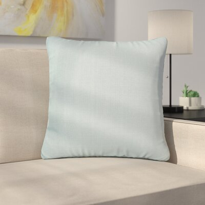 Alyssia Throw Pillow Size: 20 H x 20 W x 4 D, Color: Breeze
