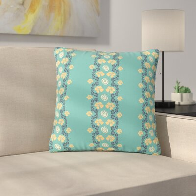 Zara Martina Mansen Floral Formations Outdoor Throw Pillow Size: 16 H x 16 W x 5 D