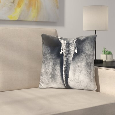 Elephant and Throw Pillow