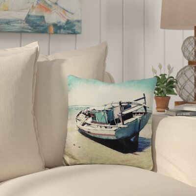 Canas Waiting for The Tide to Change Throw Pillow