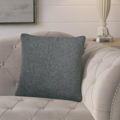 Knipp Throw Pillow Color: Charcoal Grey