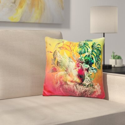 Deer VII Throw Pillow