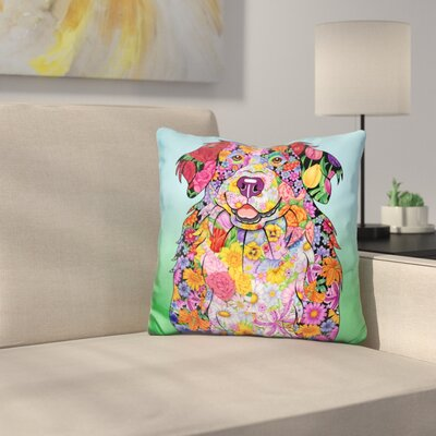 Bernese Mtn Dog Throw Pillow