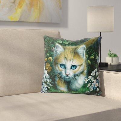 Buttercup Throw Pillow