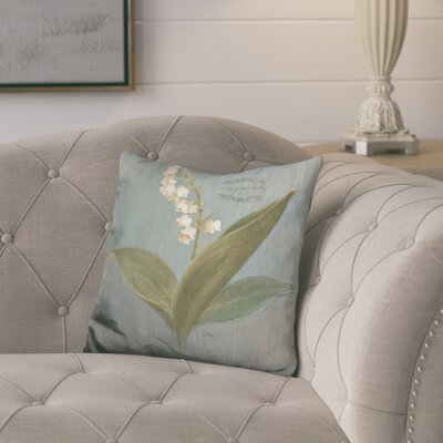 Joyce May Lily Throw Pillow