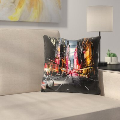 Gotham Throw Pillow