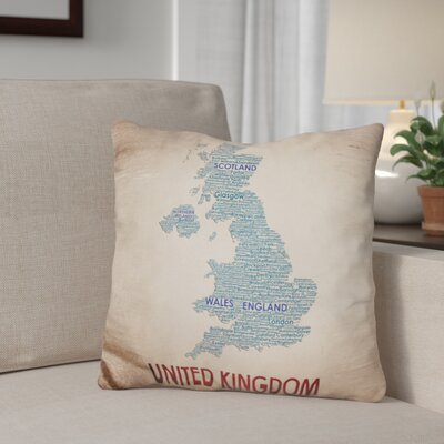 Georges United Kingdom Throw Pillow