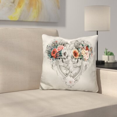 Forever Love II Throw Pillow