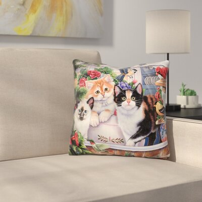 Springtime Wonders Throw Pillow