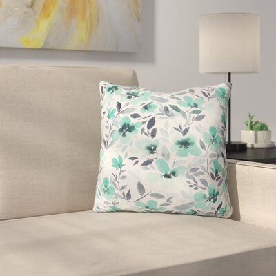 Throw Pillow Color: Mint