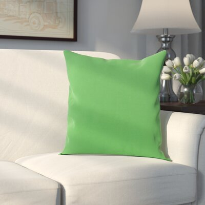 Georgia Outdoor Throw Pillow Color: Leaf, Size: 16 H x 16 W x 1 D