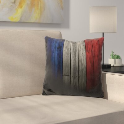 France Throw Pillow