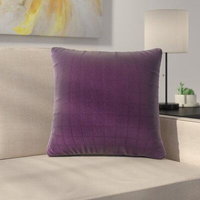Bloomingdale Throw Pillow Color: Purple