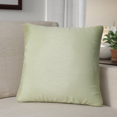 Kiera Square Throw Pillow Color: Lime