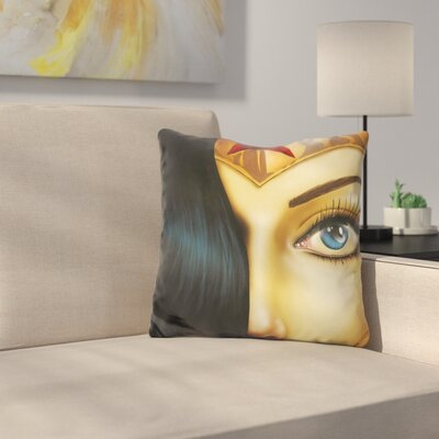 Mrs Wonderful Throw Pillow