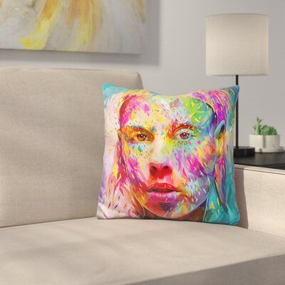 Yolandi Throw Pillow
