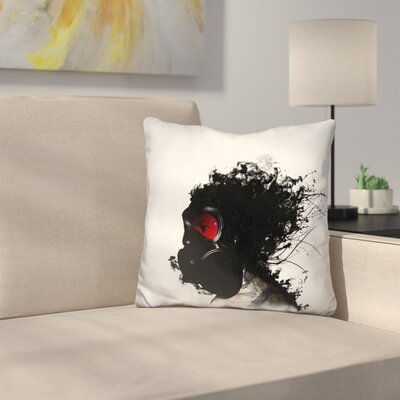 Ghost Warrior Throw Pillow