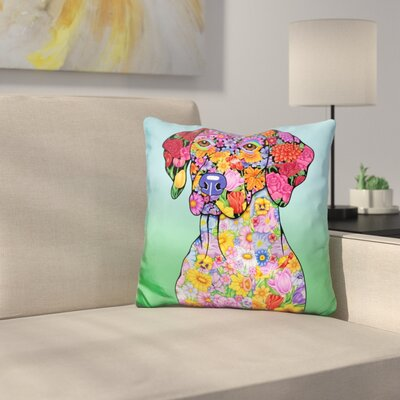 German Pointer Throw Pillow