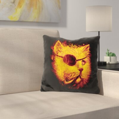 Irie Eye Throw Pillow